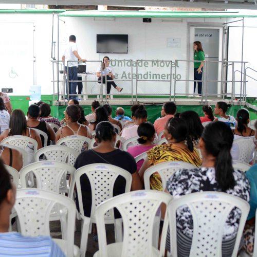 Cerca de 750 pessoas recebem atendimento jurídico em mutirão da Prefeitura-Bairro