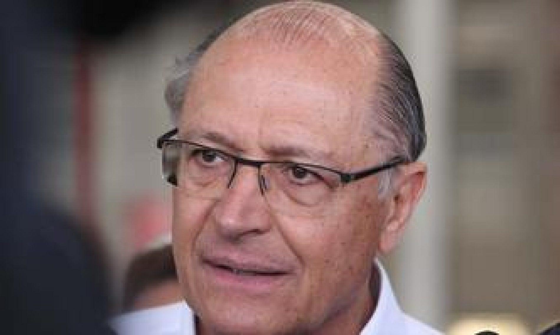 Alckmin: 'Eu não vou ser pau mandado de banqueiro'