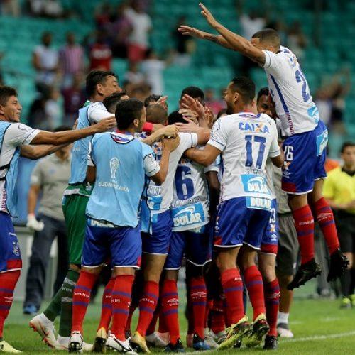 Bahia vence o Botafogo com um a menos e tem vantagem na Copa Sul-Americana