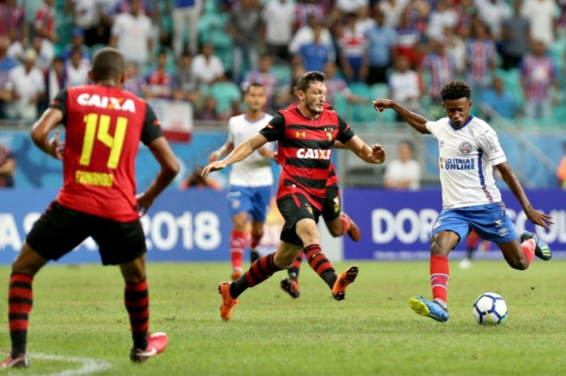 Bahia vence o Sport por 2 a 0 e sobe para parte de cima da tabela do Brasileirão