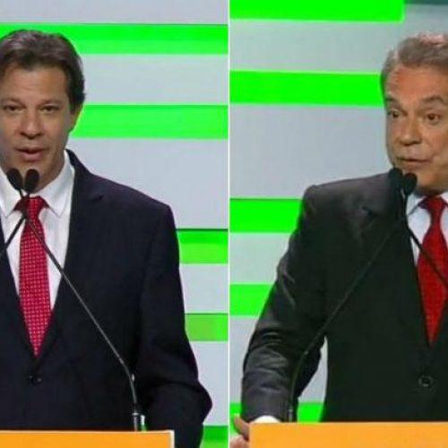 Haddad e Alvaro Dias trocam ataques ao falar sobre 'família' em debate