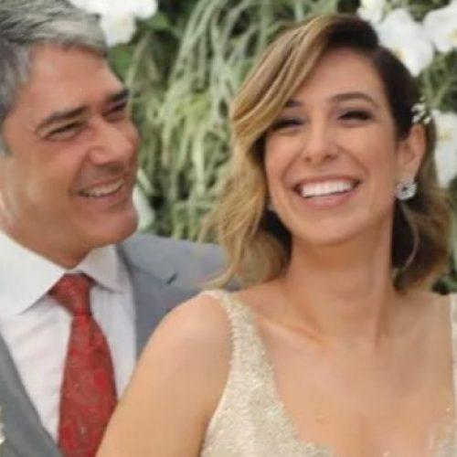 Jornalista William Bonner se casa com a fisioterapeuta Natasha Dantas em cerimônia secreta