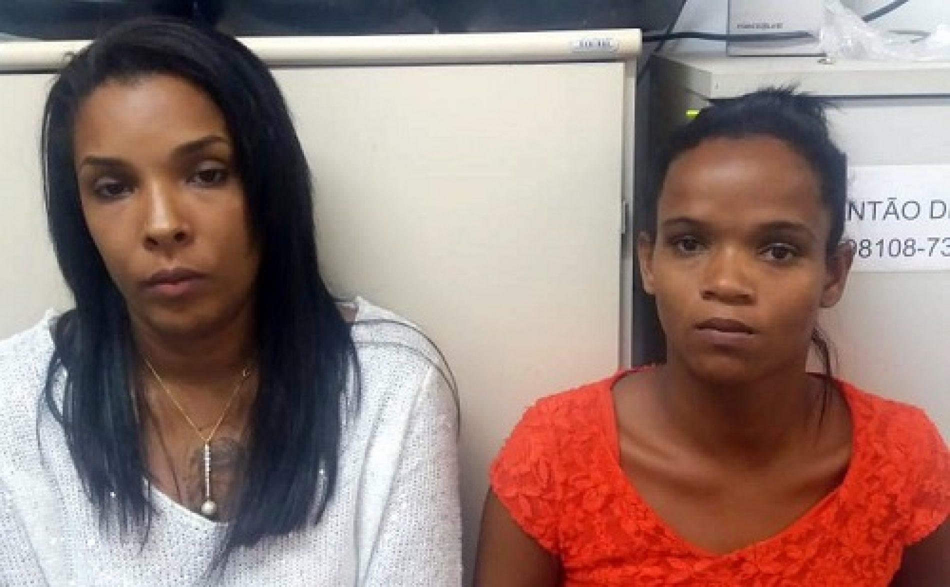 Mulheres são acusadas de furtar mais de 40 celulares em festa na orla de Porto Seguro