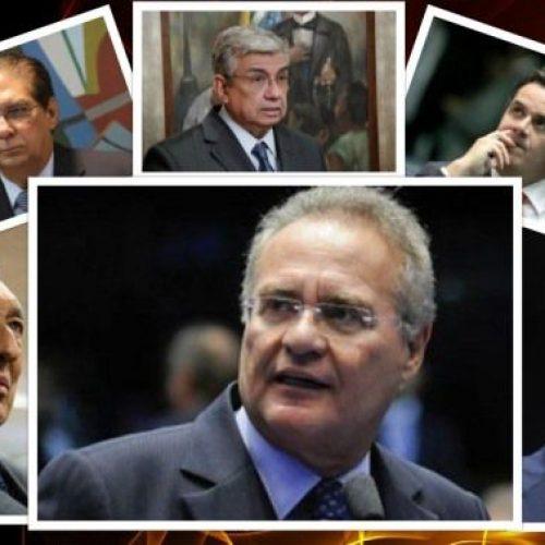 Os senadores alvos da Lava Jato que são favoritos à reeleição