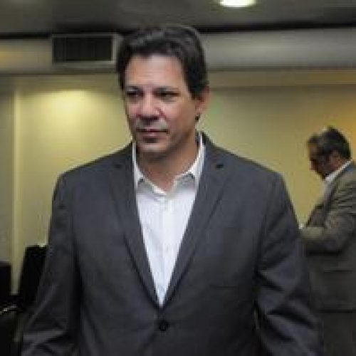 Potencial de transferência de Lula para Haddad se estabiliza, diz Ibope