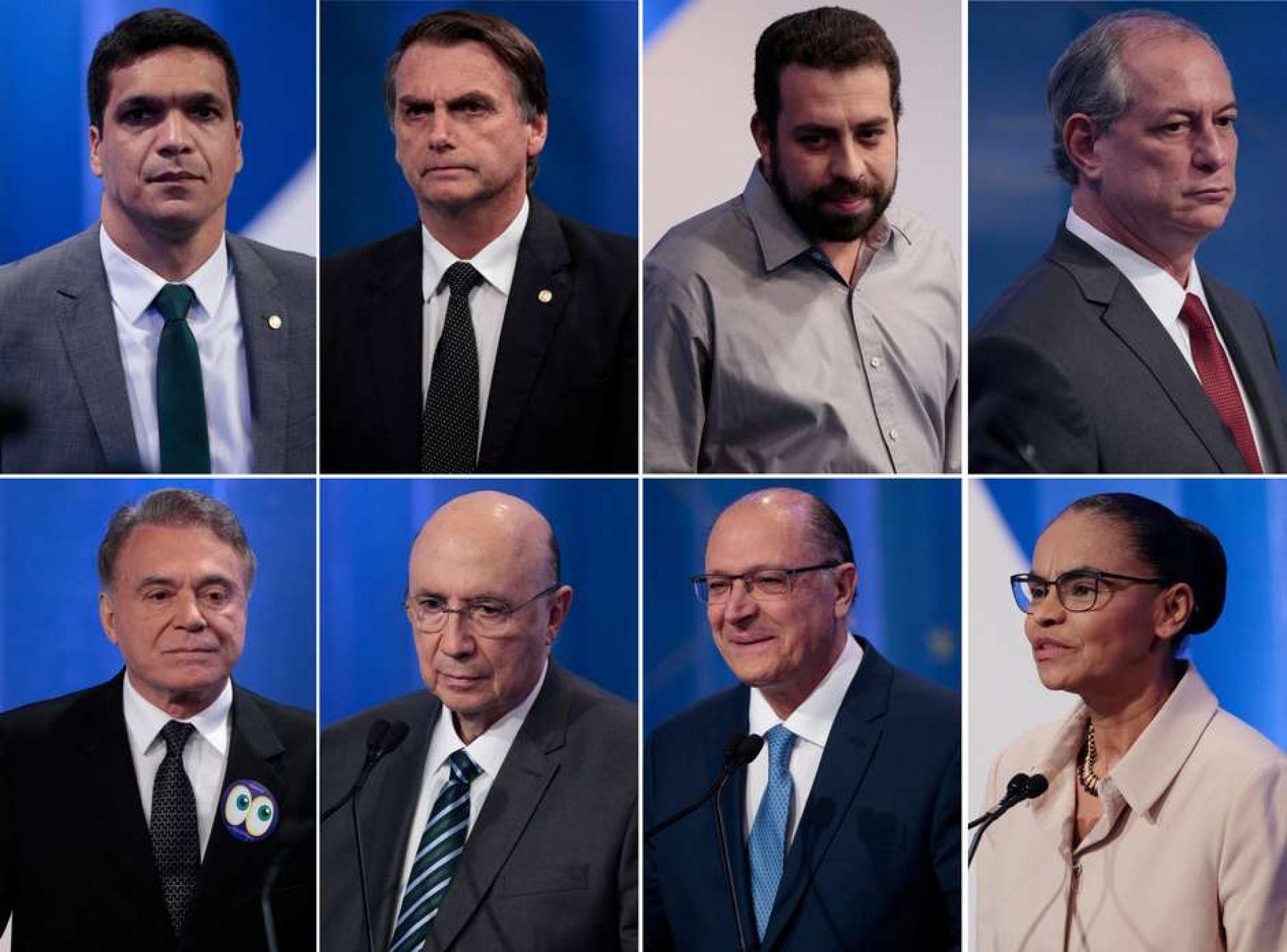 Presidenciáveis rejeitam violência em campanhas nas ruas e na TV