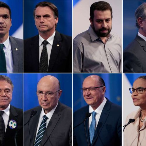 Datafolha: Bolsonaro tem 26%; Ciro, 13%; Haddad, 13%; Alckmin, 9%; Marina, 8%