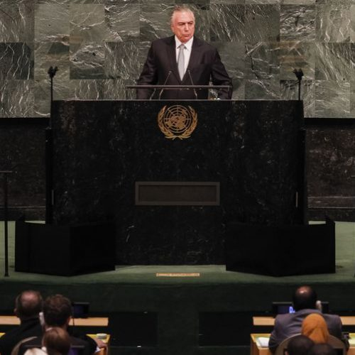 Temer defenderá, na ONU, política de apoio a imigrantes