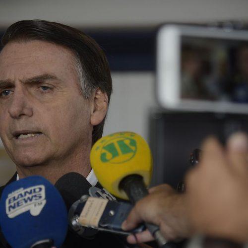 Às vésperas do pleito, segurança de Jair Bolsonaro é reforçada