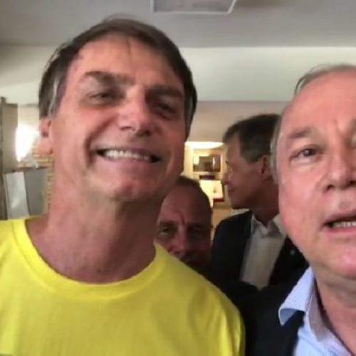 Azi participa de reunião com Bolsonaro para discutir medidas contra crimes hediondos