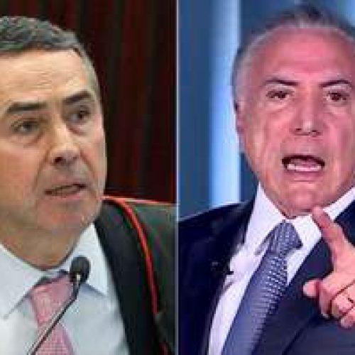 Barroso nega pedido de Temer para anular indiciamento no inquérito dos Portos