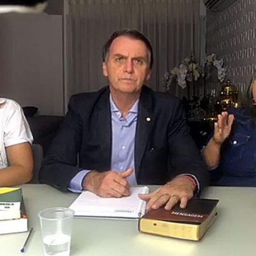 Bolsonaro agradece felicitações de Haddad pela vitória na eleição