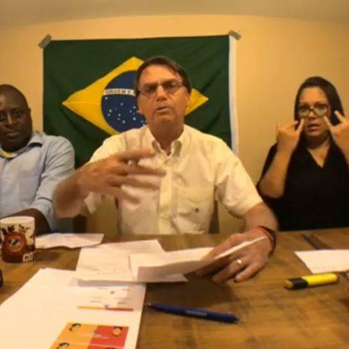 Bolsonaro dá bronca em deputados eleitos e pede mais engajamento