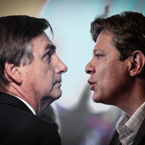 Pesquisa XP/Ipespe: Bolsonaro tem 58% contra 42% de Haddad