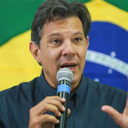 'Coisa meio acalorada, ele é meu amigo', diz Haddad sobre críticas de Cid Gomes