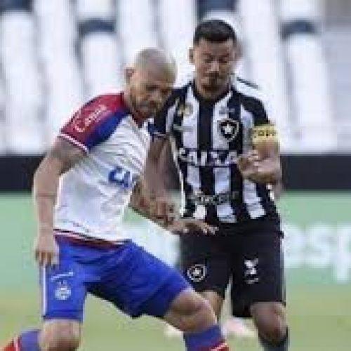 Fora de casa, Bahia vence o Botafogo e se afasta da Z-4