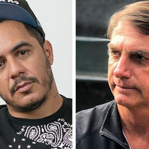 Jair Bolsonaro e Marcelo D2 'batem boca' no Twitter