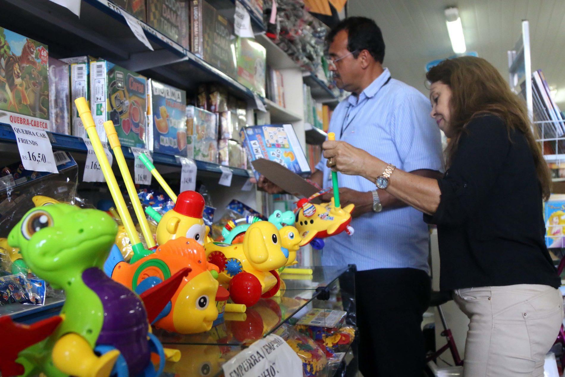 Operação Brinquedo Seguro apreende 151 produtos