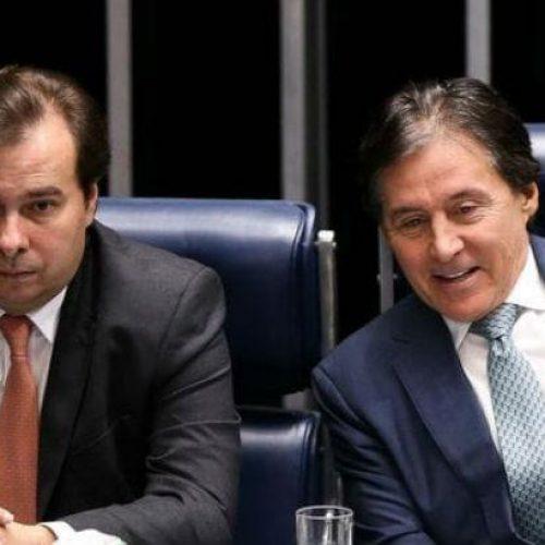 Presidentes do Senado e da Câmara parabenizam Bolsonaro
