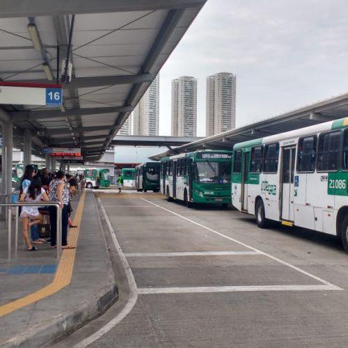 Salvador tem 100% da frota de ônibus durante segundo turno