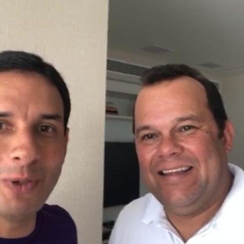 Leo Prates anuncia apoio a candidatura de Geraldo Junior