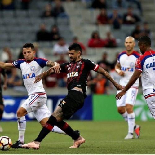 Bahia perde vaga para as semifinais da Sul-Americana para o Atlético-PR