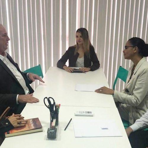 Ciro e Marina reúnem-se para alinhar oposição a Bolsonaro