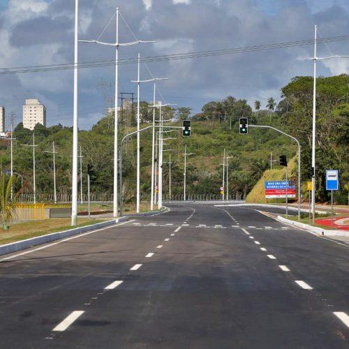 Rui entrega trecho da Avenida 29 de Março que liga a Av. Paralela à Estrada Velha do Aeroporto