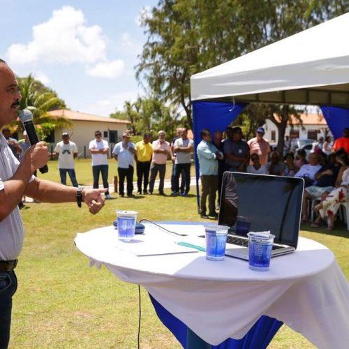 Camaçari: Guarajuba recebe marco de identificação para pleitear certificação internacional