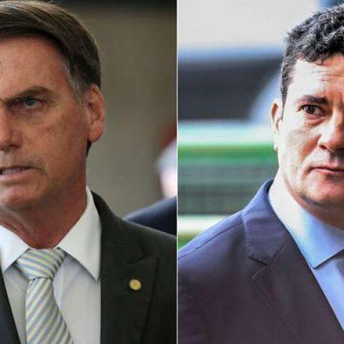 Ipsos: sobe aprovação a Bolsonaro e Moro