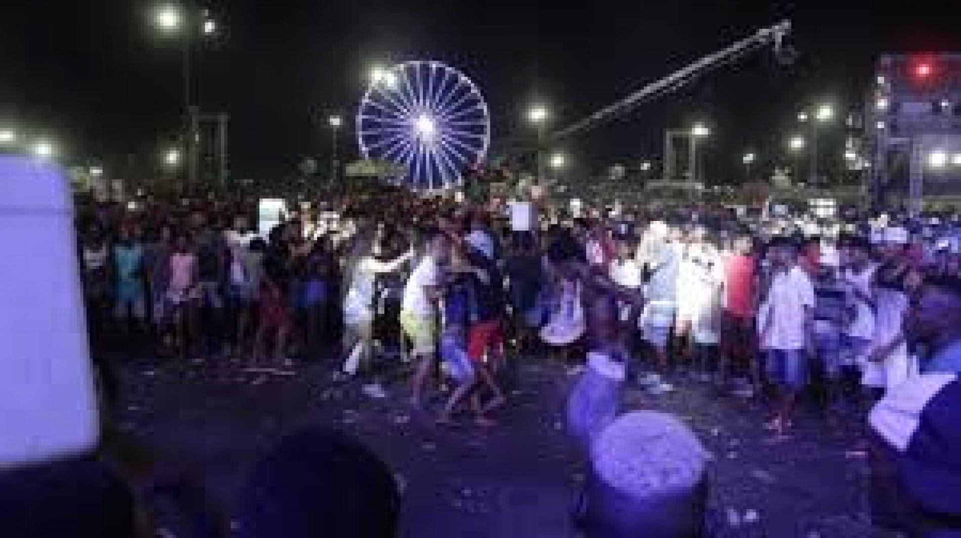 Guarda atua rapidamente para deter homem com facão em festival