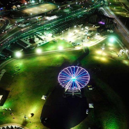 Iluminação da área do Festival Virada Salvador é ampliada
