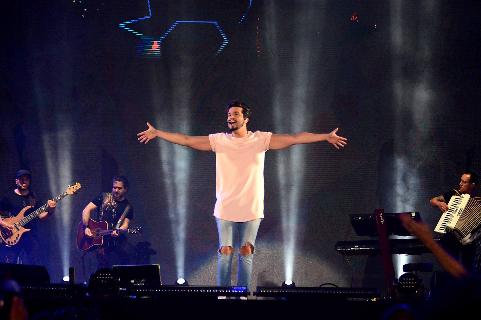 Luan anuncia gravação de novo DVD em Salvador durante festival
