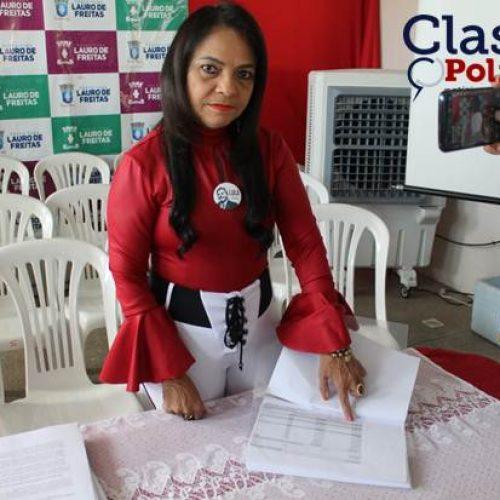 """Lauro de Freitas: Moema Gramacho diz que multa aplicada pelo TCM é equivocada, """"Não há o que ressarcir""""; ASSISTA"""
