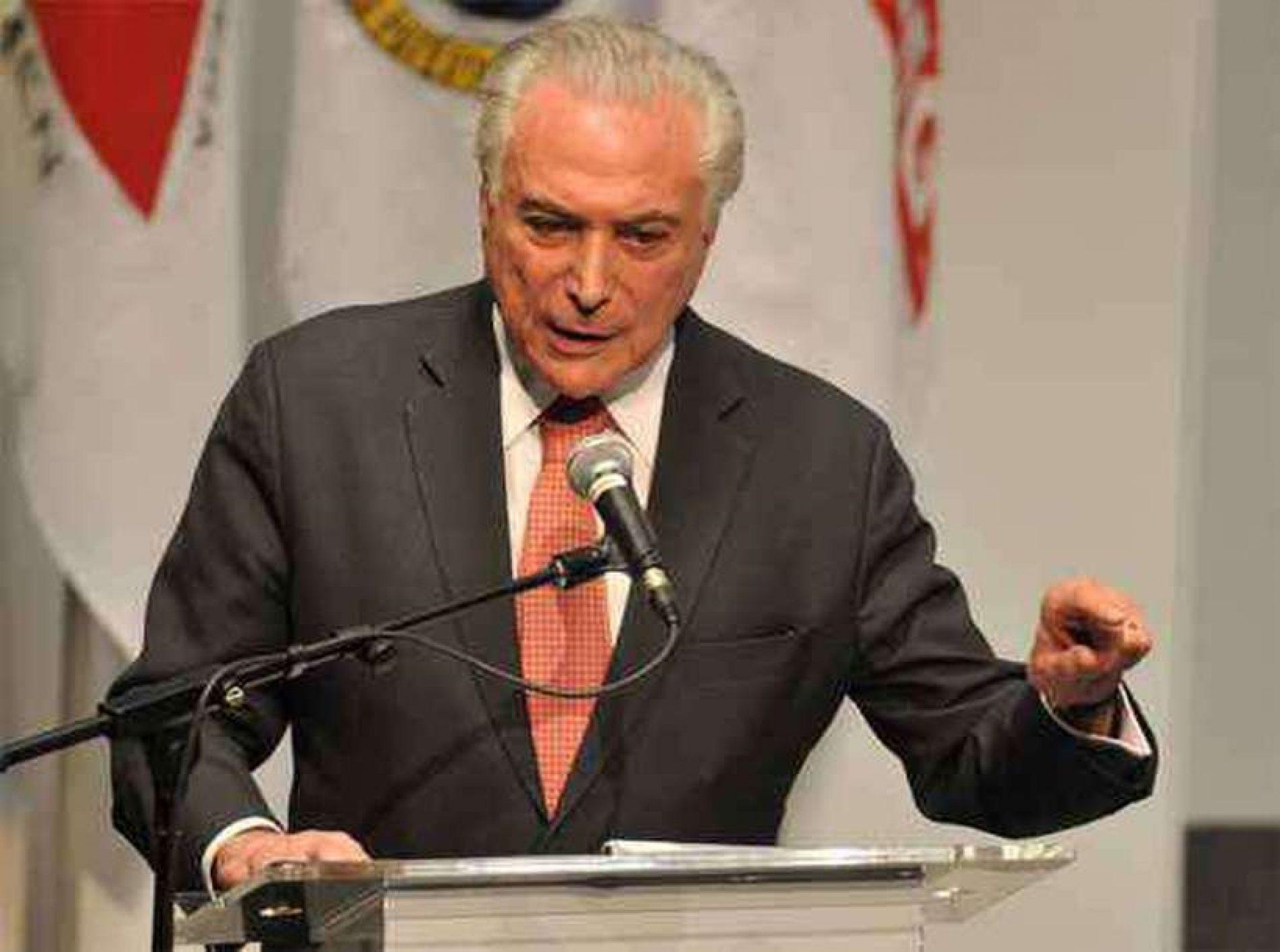 PGR diz que Temer praticou corrupção ao receber da Odebrecht