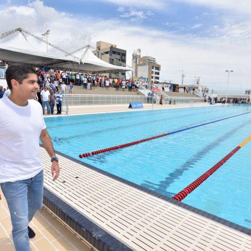 Prefeitura entrega Arena Aquática Salvador
