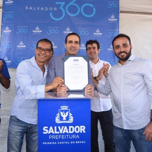 Salvador: Prefeitura inicia reforma de creche em Paripe