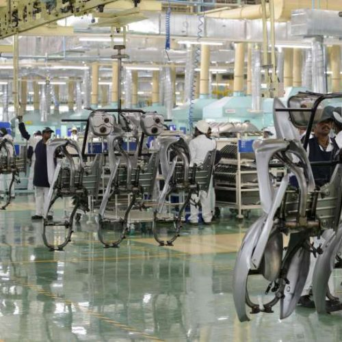 Produção de motocicletas tem alta de 19% no acumulado até novembro