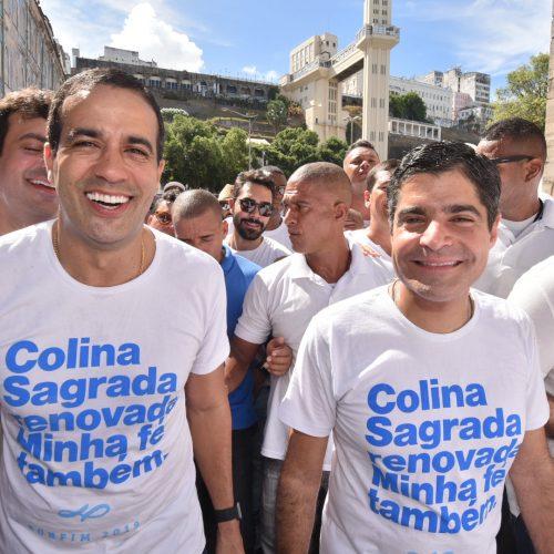 """""""A Lavagem do Bonfim é uma lição de tolerância"""", diz Bruno Reis"""