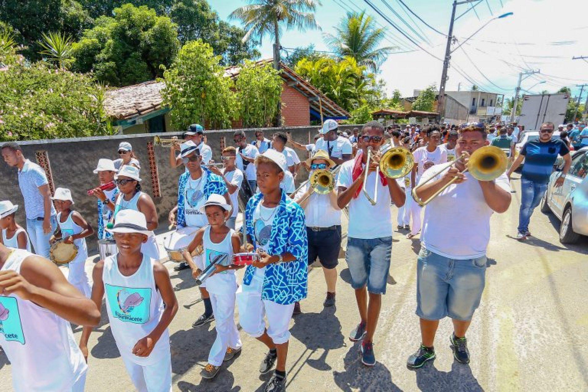 Barra do Pojuca abre o ciclo de lavagens da Costa de Camaçari