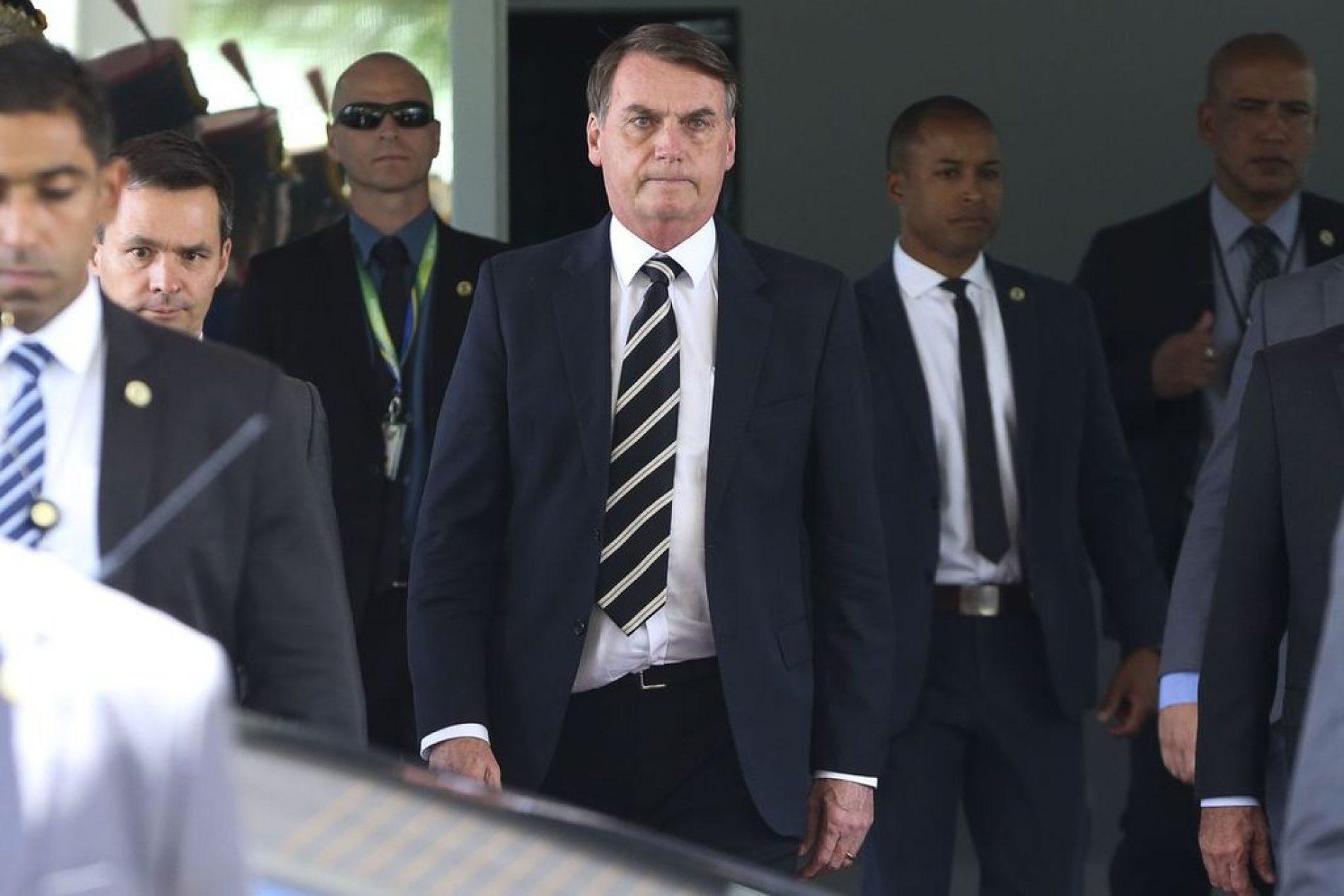 Bolsonaro almoça no Ministério da Defesa