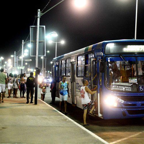 Cerca de 923 mil pessoas utilizaram transporte público no Festival Virada Salvador