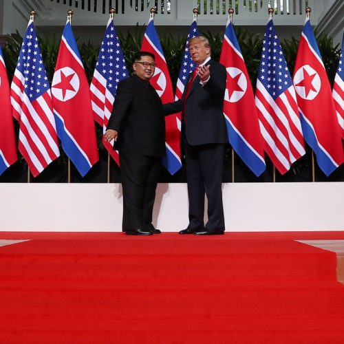China media segundo encontro entre Trump e Kim Jong-un