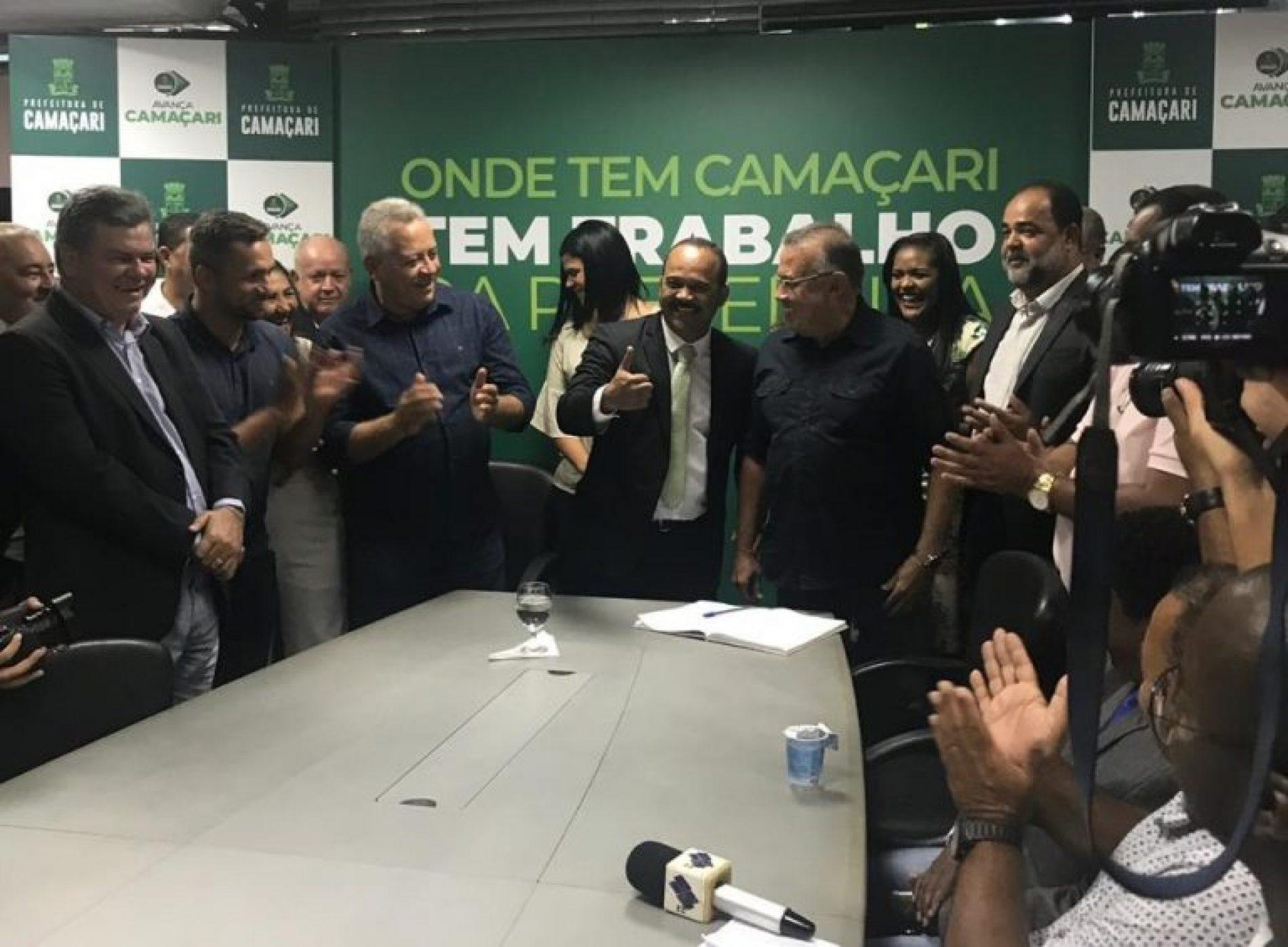 Camaçari: Elinaldo anuncia Reforma Administrativa; ex-comandante da PM vai comandar trânsito e transporte; confira lista