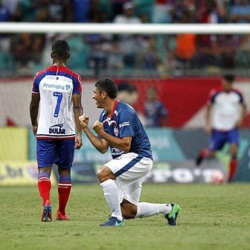 Esquadrão perde para o Bahia de Feira na Fonte Nova pelo Campeonato Baiano