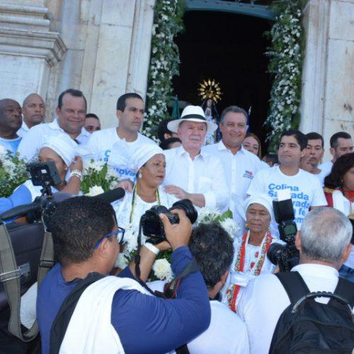 Renovação da fé move milhares de pessoas na Festa do Bonfim e destaca harmonia entre os poderes