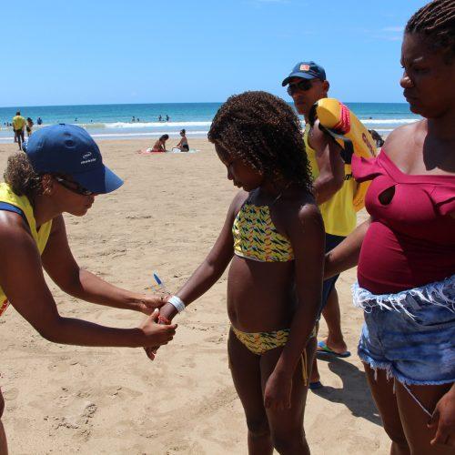 Salvamar inicia campanha de identificação de crianças nas praias de Salvador*