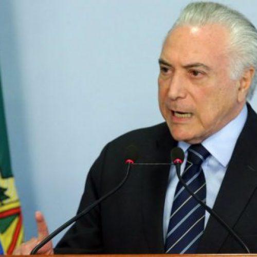Temer diz que entrega um Brasil 'muito melhor' para todos os brasileiros