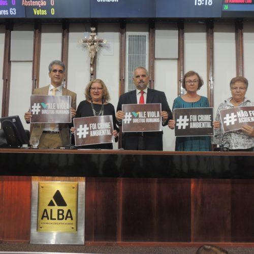 Frente Ambientalista cobra punição aos responsáveis por crime socioambiental em Brumadinho