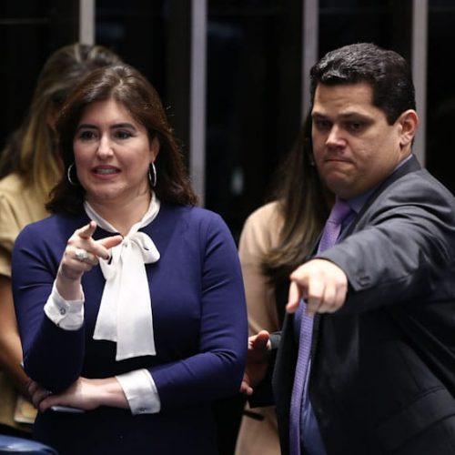 Desafeto de Renan Calheiros, Simone Tebet assume CCJ do Senado